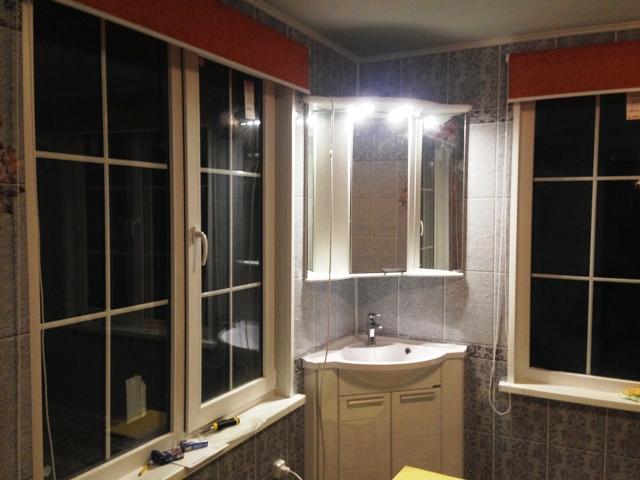 отделка ванной комнаты в частном доме